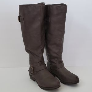 Journey Collection Tall Riding Boot w/ Zip